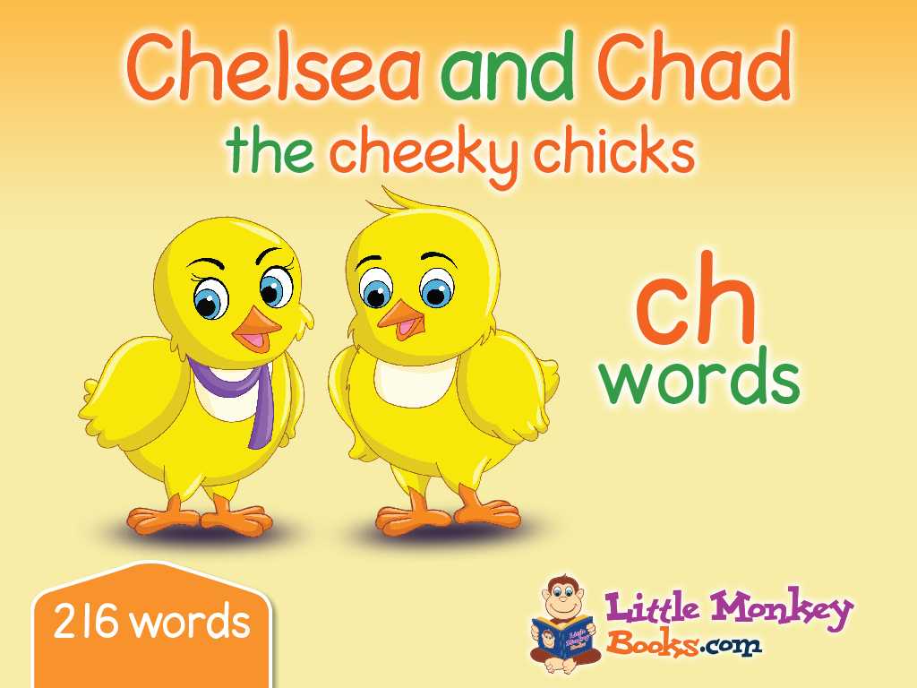 Chelsea and Chad the cheeky chicks