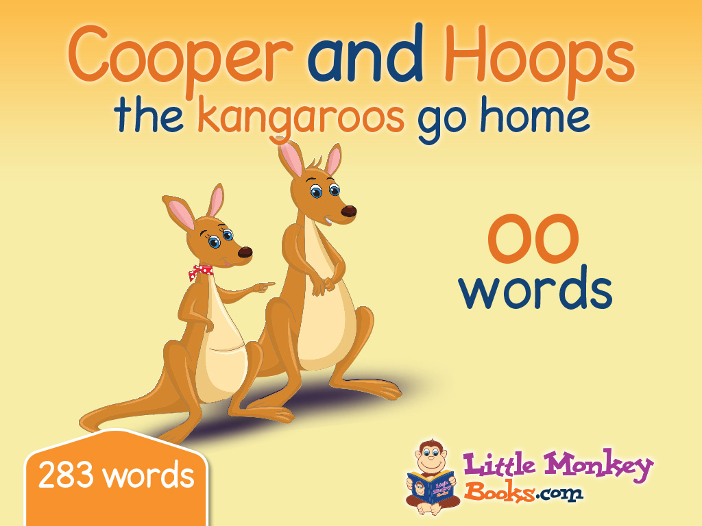 Cooper and Hoops the kangaroos go home