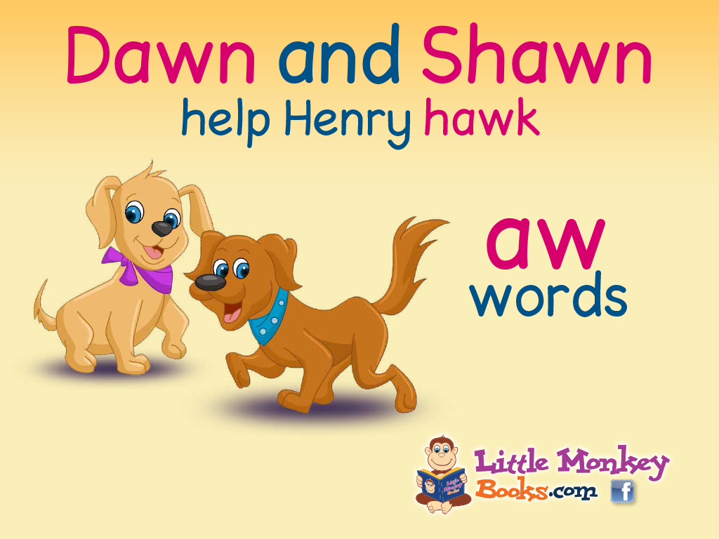Dawn and Shawn help Henry hawk