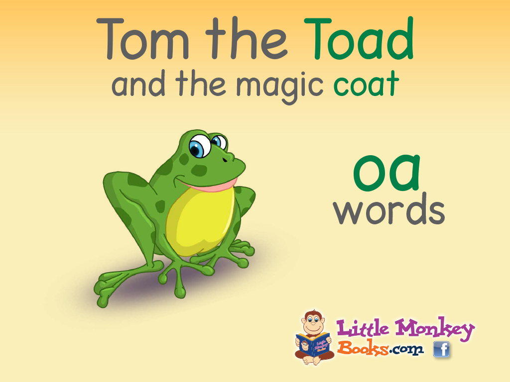 Tom the Toad cover art h